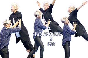 Tao and Kai Renders {Happy Camp} by kamjong-kai
