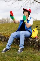 Which Pokemon is this ? by HauroCosplay