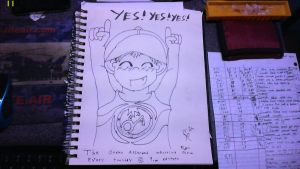YES YES YES, OAWS Fanart (sketchbook pg 14) by cmr-1990