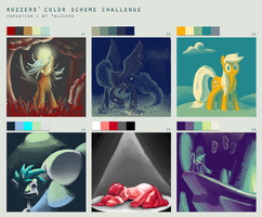 Color scheme meme by FiddleArts
