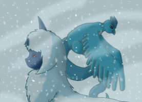 Absol-Artic by dra-cat