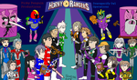 Horney Rangers: Two Teams by SL-ShadowLeagueGamer