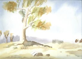 Watercolour by Nickmeister