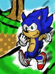 Sonic [Colors! 3DS Test] by Mirax96