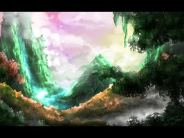 Rainforest Speedpaint by JRTribe