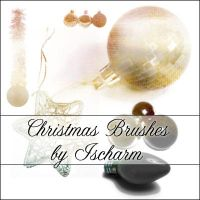 Ischarm Christmas Brushes by ischarm