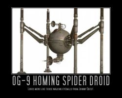 Star Wars OG-9 Homing Spider Droid by Onikage108