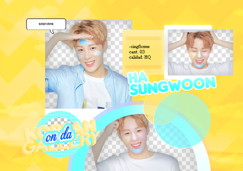 SUNGWOON | WANNA ONE | PACK PNG by KoreanGallery