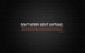 Don't Worry by 03TRD