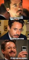 Robert Downey Jr Comic by MorganaDarkness