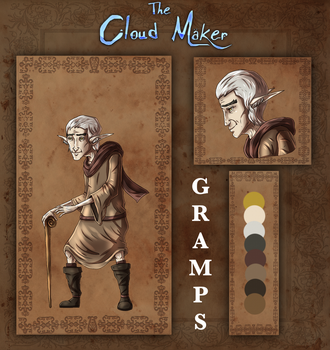 The Cloud Maker: Gramps Reference by LivingAliveCreator