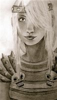 HTTYD - Astrid by lemon-lime-lover