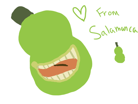 Love From the Biting Pear Of Salamanca by ingot-honey