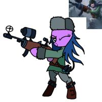 caitlyn pony by pppie