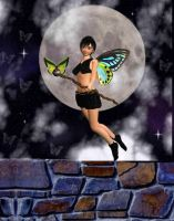 Butterfly Faerie's Domain by VisualPoetress