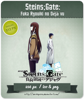 Steins Gate [Movie] - Anime Icon by Darklephise