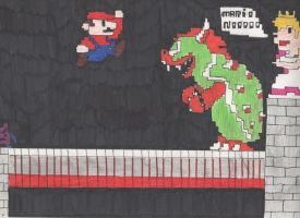 Super Mario Syndrome by DelphiniumFleur