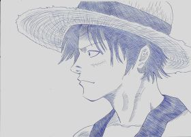 Luffy by Leoneto