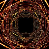 Psychedelic Wireframe by Infected-Rose