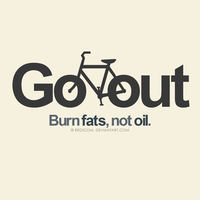 Go out, burn fats by JereekEspiritu