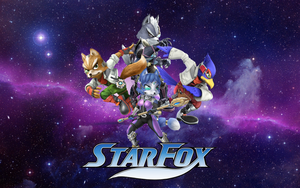 Star Fox Team (Super Smash Bros 4 Style) by 3D4D