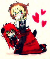 GRELL IS MY BBY!!! by J0LIA