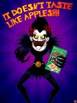 RYUK IS NOT HAPPY by lordcoyote