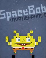 SpaceBob Invaderpants by pacalin