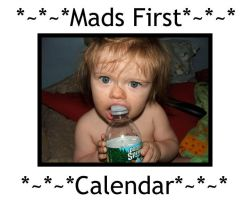 Mads First Calendar by sej