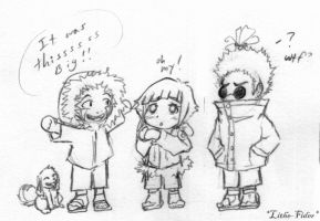 Team 8 Chibis by Lithe-Fider