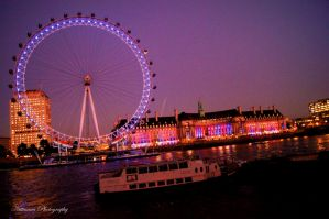 London Eye by Nittaaaa