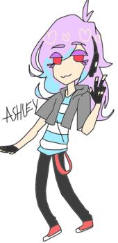 ASHELY :3 by TurtleGawd