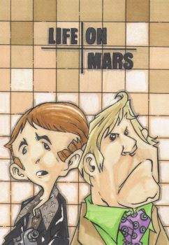 LIFE ON MARS by leagueof1