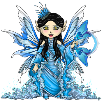 Water Mage Outfit by ItsAndromeda