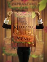 Ritorno - menu flyer by wilhelm1989
