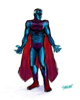 Superman Concept Nolan Style by Eastfist