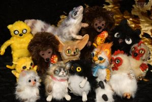 Doll toys IN STOCK NOW by KrafiCat