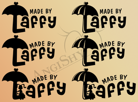 Logo previews for Laffy by Angi-Shy