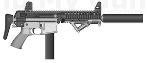 9mm Colt Carbine PDW by GunFreakFin
