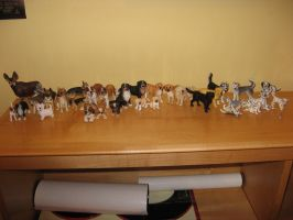 Schleich Dogs Collection by LeaveItToVi