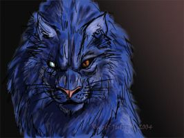 Blue Mongrel by rwolf