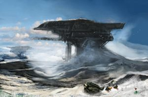 Explorers - Remains of an advanced civilization by Brollonks
