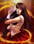 Sailor Mars by daPatches