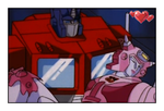 Optimus and Elita 2 by GeminiGirl83
