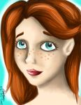 Ginny Digitalpainting by rover24cat