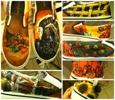Thanksgiving shoes by songbirdholly