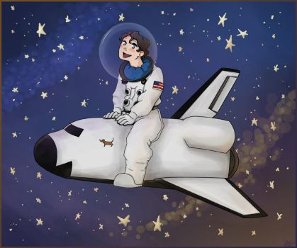 Spacedogs - Spacepuppy by Schu-was-here