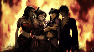 Fire gang by DarthPonda