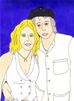 Madonna and Bob by MaterialGurl15