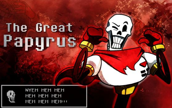 The Great Papyrus Wallpaper by MattSquat